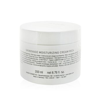 Skinovage Moisturizing Cream Rich (Salon Size) Babor Skinovage Moisturizing Cream Rich (Salon Size) 200ml/6.7oz