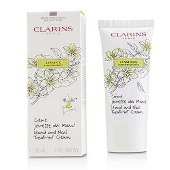 Hand & Nail Treatment Cream - Jasmine Clarins Hand & Nail Treatment Cream - Jasmine 30ml/1oz