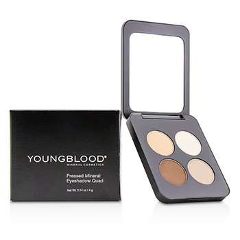 Купить Pressed Mineral Eyeshadow Quad - City Chic 4g/0.14oz, Youngblood