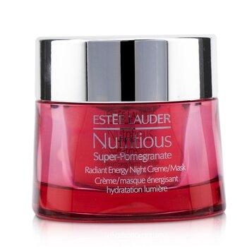 Купить Nutritious Super-Pomegranate Radiant Energy Ночной Крем/Маска 50ml/1.7oz, Estee Lauder