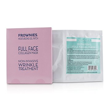 FROWNIES | Frownies Full Face Collagen Mask - Moisturizing Gel Patch 1sheet | Goxip
