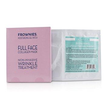 Frownies Full Face Collagen Mask - Moisturizing Gel Patch 1sheet