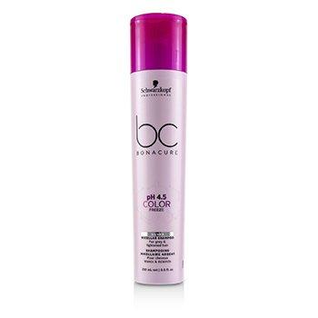 Купить BC Bonacure pH 4.5 Color Freeze Silver Мицеллярный Шампунь (для Седых и Осветленных Волос) 250ml/8.5oz, Schwarzkopf