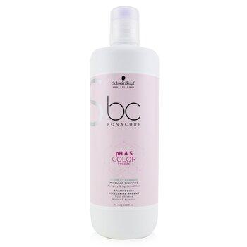 Купить BC Bonacure pH 4.5 Color Freeze Silver Мицеллярный Шампунь (для Седых и Осветленных Волос) 1000ml/33.8oz, Schwarzkopf