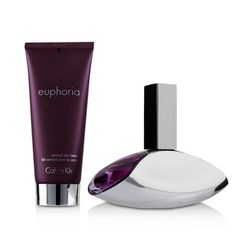 Купить Euphoria Coffret: Eau De Parfum Spray 100ml/3.4oz + Sensual Skin Lotion 100ml/3.4oz 2pcs, Calvin Klein