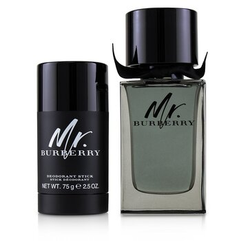 Купить Mr. Burberry Coffret: Eau De Toilette Spray 100ml/3.3oz + Deodorant Stick 75g/2.5oz