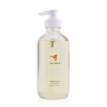 Thymes Mandarin Coriander Hand Wash 207ml/7oz