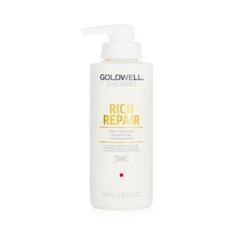 Купить Dual Senses Rich Repair 60Сек Средство для Волос (Регенерация для Поврежденных Волос) 500ml/16.9oz, Goldwell