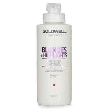 Купить Dual Senses Blondes & Highlights 60сек Средство для Волос (Сияние для Светлых Волос) 500ml/16.9oz, Goldwell