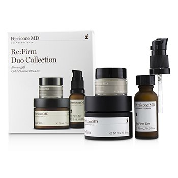 Perricone MDRe Firm Duo Collection Re Firm 30ml Re Firm Eye 15ml Cold Plasma 7.5ml 3pcs