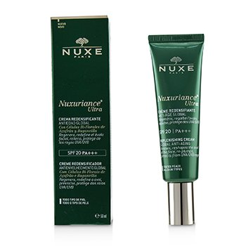 NuxeNuxuriance Ultra Global Anti Aging Replenishing Fluid Cream SPF 20 All Skin Types 50ml 1.5oz