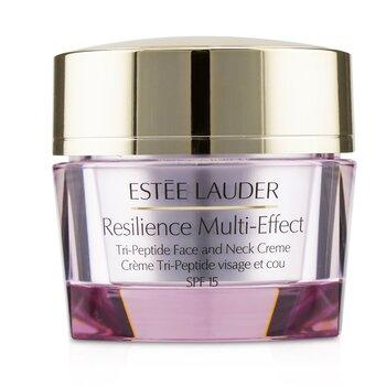 Купить Resilience Multi-Effect Tri-Peptide Крем для Лица и Шеи SPF 15 - для Нормальной/Комбинированной Кожи 50ml/1.7oz, Estee Lauder