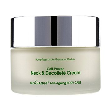 MBR Medical Beauty ResearchBioChange Anti Ageing Body Care Cell Power Neck Decollete Cream 200ml 6.8oz