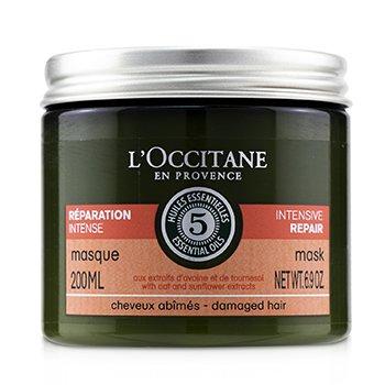 Купить Aromachologie Интенсивная Восстанавливающая Маска (для Поврежденных Волос) 200ml/6.9oz, L'Occitane