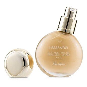 Купить L'Essentiel Основа для Натурального Сияния Кожи 16Ч Стойкости SPF 20 - # 01W Very Light Warm 30ml/1oz, Guerlain