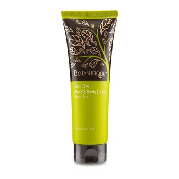 BotanifiqueDuo Care Hand & Body Lotion - Fresh Flora 125ml/4.2oz