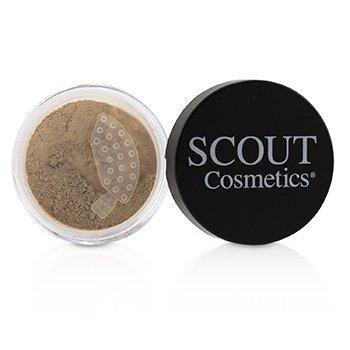 Купить Минеральная Пудровая Основа SPF 20 - # Shell 8g/0.28oz, SCOUT Cosmetics
