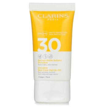 Купить Невидимый Солнцезащитный Гель-Масло для Лица SPF 30 50ml/1.7oz, Clarins