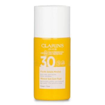 Купить Минеральный Солнцезащитный Флюид для Лица SPF 30 - для Чувствительных Участков 30ml/1oz, Clarins
