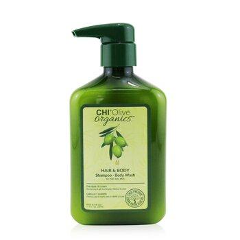 Купить Olive Organics Шампунь для Тела и Волос (для Кожи и Волос) 340ml/11.5oz, CHI