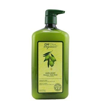 Купить Olive Organics Шампунь для Тела и Волос (для Кожи и Волос) 710ml/24oz, CHI