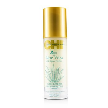 CHIAloe Vera with Agave Nectar Curls Defined Moisturizing Curl Cream 147ml 5oz
