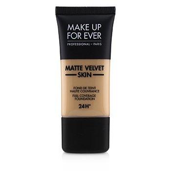 Купить Matte Velvet Skin Основа с Полным Покрытием - # R330 (Warm Ivory) 30ml/1oz, Make Up For Ever