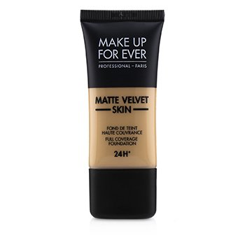 Купить Matte Velvet Skin Основа с Полным Покрытием - # Y335 (Dark Sand) 30ml/1oz, Make Up For Ever