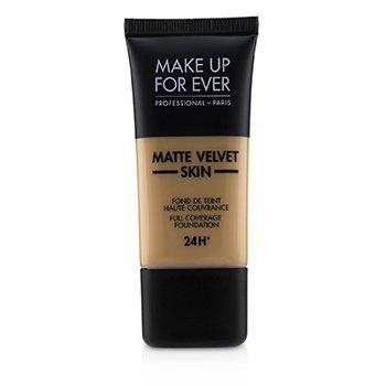 Купить Matte Velvet Skin Основа с Полным Покрытием - # Y375 (Golden Sand) 30ml/1oz, Make Up For Ever