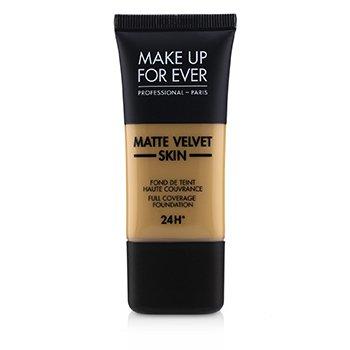 Купить Matte Velvet Skin Основа с Полным Покрытием - # Y405 (Golden Honey) 30ml/1oz, Make Up For Ever