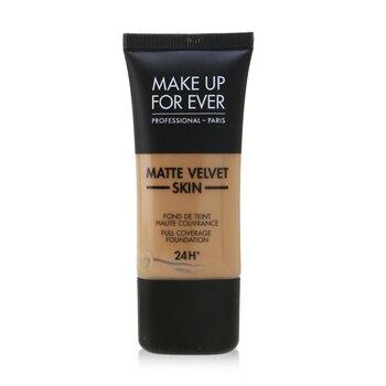 Купить Matte Velvet Skin Основа с Полным Покрытием - # R410 (Golden Beige) 30ml/1oz, Make Up For Ever