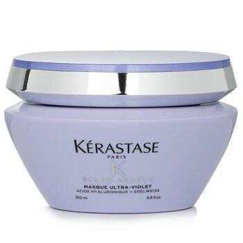 Купить Blond Absolu Masque Ultra-Violet Пурпурная Маска для Светлых Волос против Желтизны (для Осветленных Холодных Светлых Волос) 200ml/6.8oz, Kerastase
