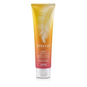 Купить Sunny SPF 50 Crème Divine Невидимое Солнцезащитное Средство - для Лица и Тела 150ml/5oz, Payot