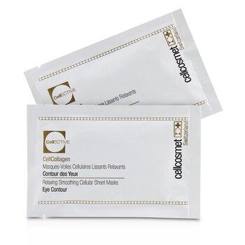 Купить Cellcosmet CellEctive CellCollagen Расслабляющие Разглаживающие Тканевые Маски для Контура Глаз 5x2patchs, Cellcosmet & Cellmen