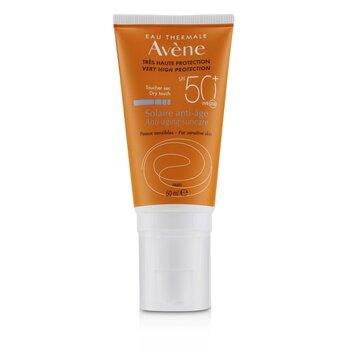 Купить Антивозрастное Солнцезащитное Средство SPF 50+ - для Чувствительной Кожи 50ml/1.7oz, Avene