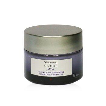 Купить Kerasilk Style Завершающий Крем (для Невесомых, Мягких Волос) 50ml/1.7oz, Goldwell