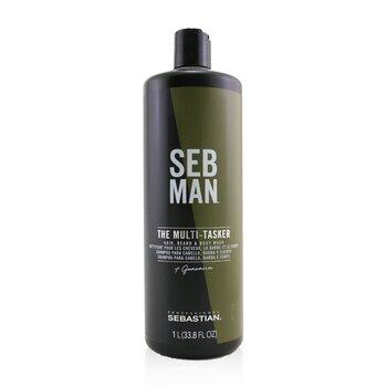 Купить Seb Man The Multi-Tasker (Средство для Мытья Волос, Тела и Бороды) 1000ml/33.8oz, Sebastian