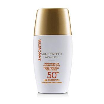 Купить Sun Perfect Infinite Glow Совершенствующий Флюид SPF 50 30ml/1oz, Lancaster