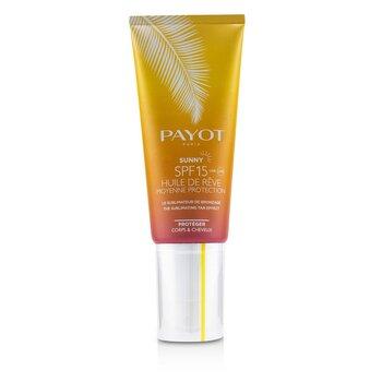 Купить Sunny SPF 15 Солнцезащитное Масло для Загара - для Тела и Волос 100ml/3.3oz, Payot
