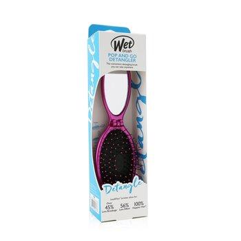 Купить Pop and Go Metallic Щетка для Волос - # Pink 1pc, Wet Brush