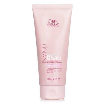 Купить Invigo Blonde Recharge Кондиционер для Усиления Цвета Волос - # Холодный Блонд 200ml/6.7oz, Wella