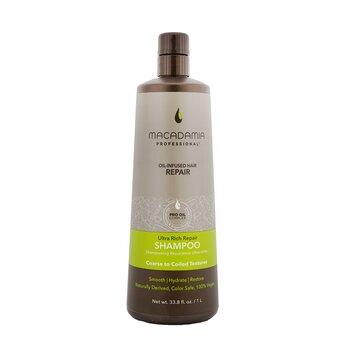 Купить Professional Ультра Насыщенный Восстанавливающий Шампунь (для Жестких и Кудрявых Волос) 1000ml/33.8oz, Macadamia Natural Oil