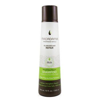 Купить Professional Weightless Repair Shampoo (Baby Fine to Fine Textures) 300ml/10oz, Macadamia Natural Oil