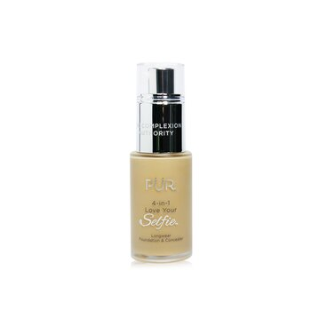 Купить 4 in 1 Love Your Selfie Longwear Foundation & Concealer - #MG5 Almond (Golden Medium Skin With Golden Undertones) 30ml/1oz, PUR (PurMinerals)