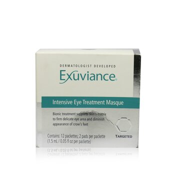 ExuvianceIntensive Eye Treatment Pads (Box Slightly Damaged) 12 Applications