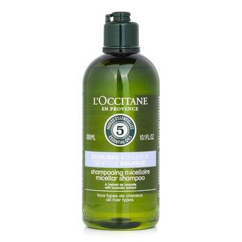 Купить Aromachologie Gentle & Balance Мицеллярный Шампунь (для Всех Типов Волос) 300ml/10.1oz, L'Occitane