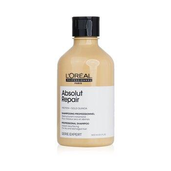 Professionnel Serie Expert - Absolut Repair Gold Quinoa + Protein Instant Resurfacing Shampoo 300ml/10.1oz, L'Oreal  - Купить