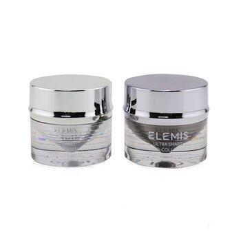 Купить Ultra Smart Pro-Collagen Дневное и Ночное Средство для Глаз Дуо (1x Утренний Бальзам для Глаз, 1x Вечерний Крем для Глаз, 1x Аппликатор) 2x10ml/0.3oz, Elemis