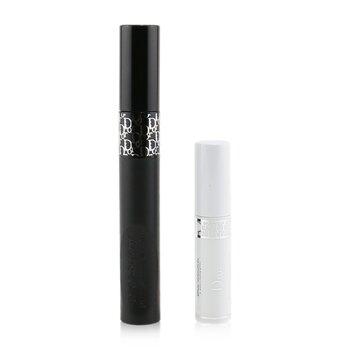 Купить Diorshow Pump N' Volume Mascara Набор: Diorshow Pump 'N' Volume Тушь для Ресниц 6г/0.21унц + Diorshow Maximizer 3D Праймер для Ресниц 2pcs, Christian Dior