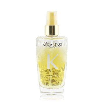 Купить Elixir Ultime L'Huile Légère Совершенствующее Двухфазное Масло Спрей (для Тонких и Нормальных Волос) 100ml/3.4oz, Kerastase